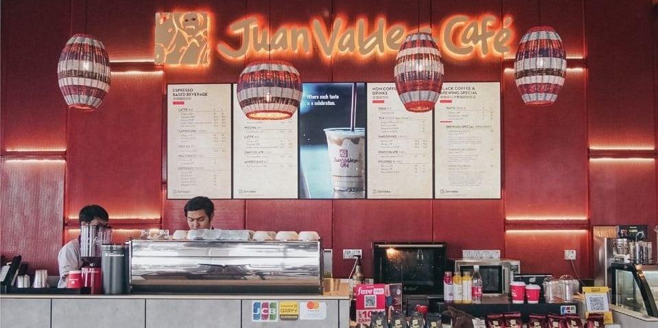 Juan Valdez cafe Kuala Lumpur