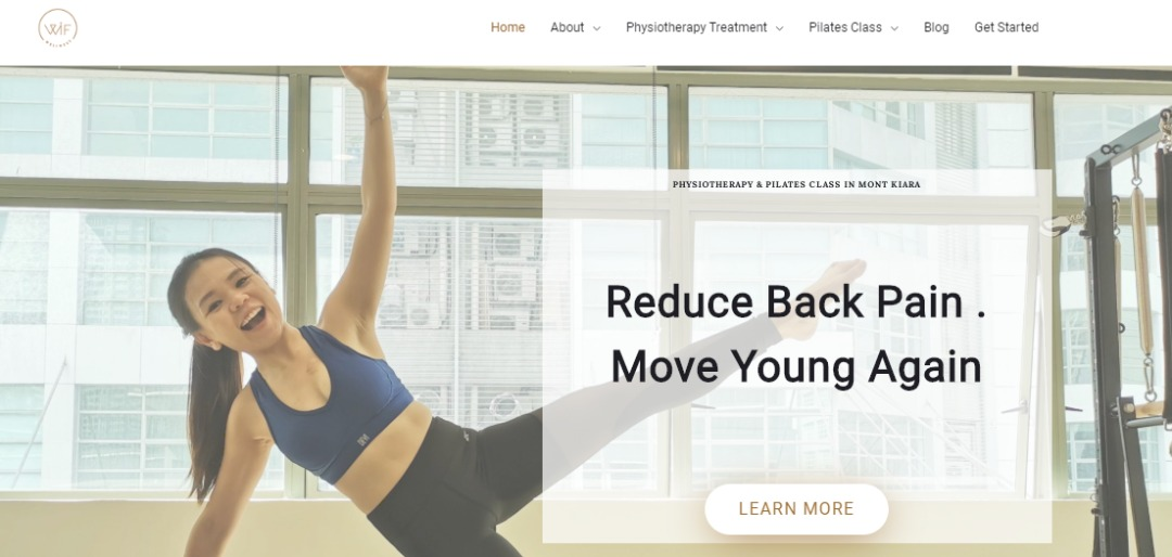 Pilates and physiotherapy treatment
