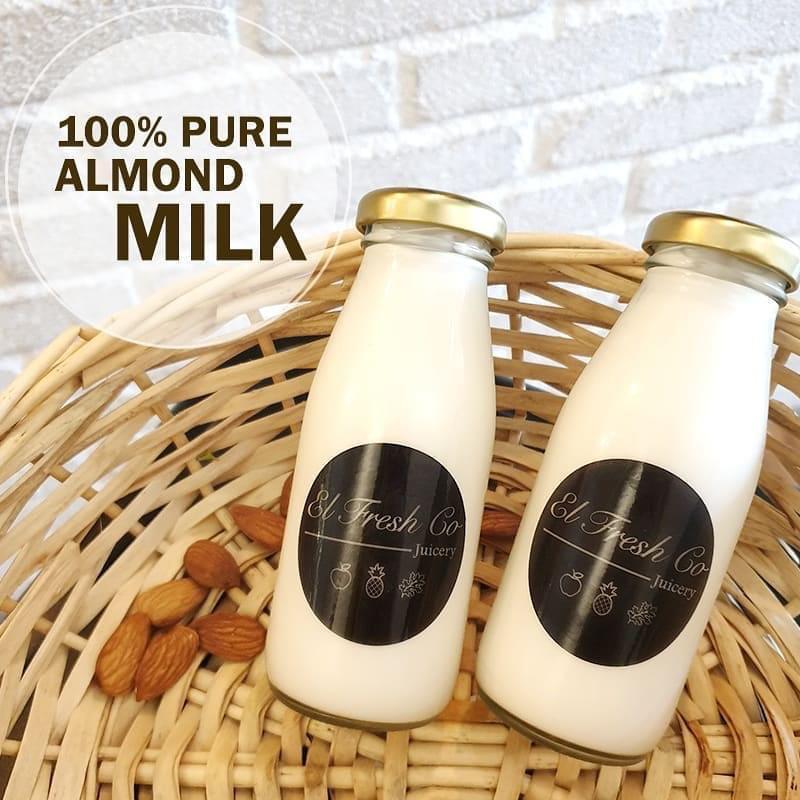 Pure almond milk Bangsar Malaysia