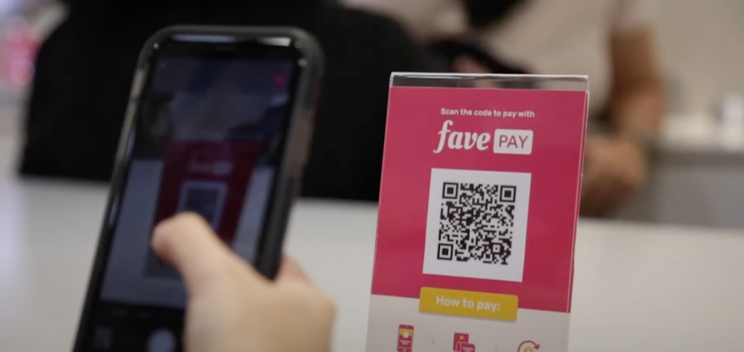 FavePay mobile payments